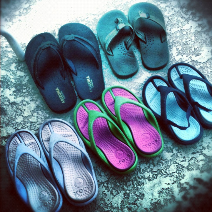 5 pairs of shoes from ilovemy5kids