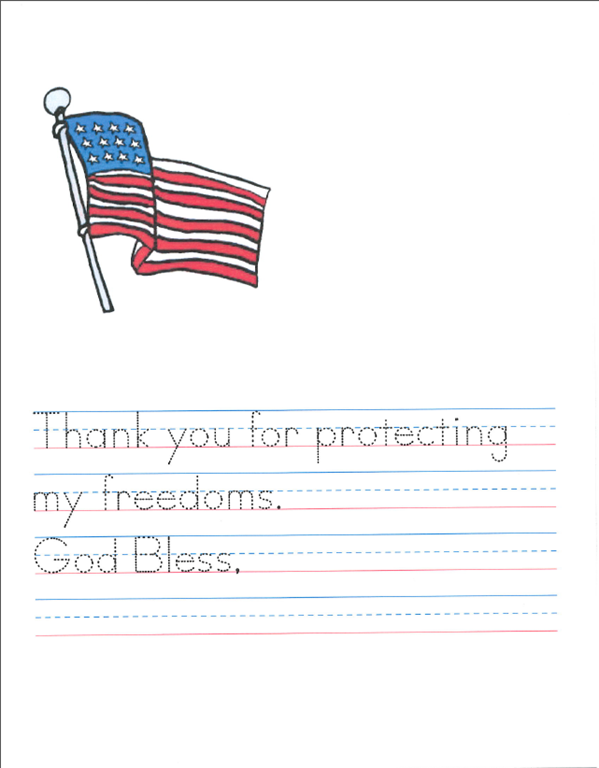write a soldier a veterans day activity the homeschool post