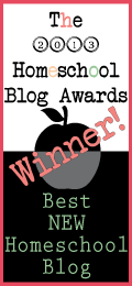 Winner Top Ten Best Homeschool Blog