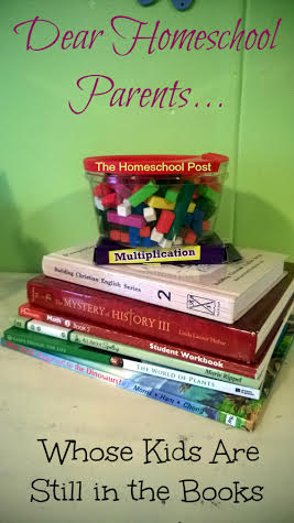 Dear Homeschool Parent Whose Kids are Still in the Books @hsbapost