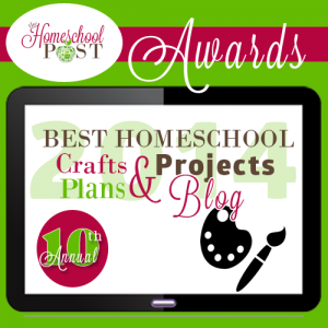 Crafts, Plans, Projects Homeschool Blog Awards @hsbapost