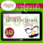 Funniest Homeschool Blog Award @hsbapost