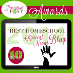 Best Special Needs Homeschool Blog @hsbapost