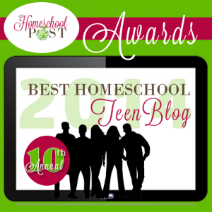 Best Teen Homeschool Blog @hsbapost