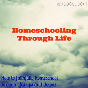 homeschooling through life