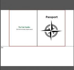 Map Travelers passport