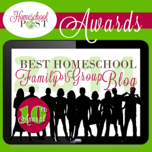 Best Homeschool Group or Family blog 2014