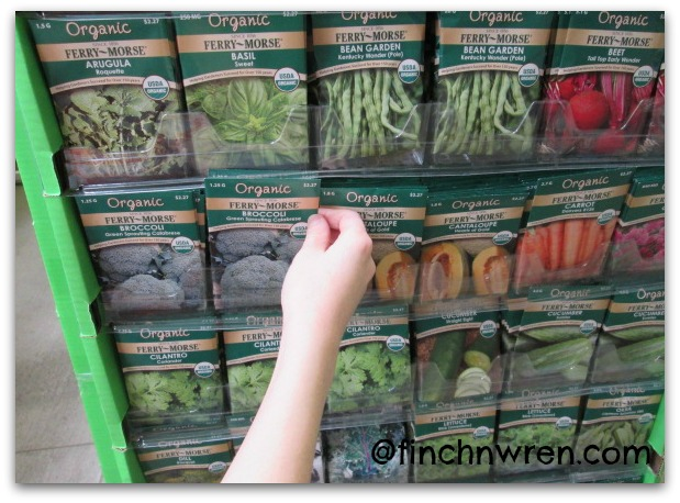 5 Ideas for Fun Gardening With Kids ~ Choosing Seeds