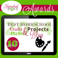 Top 10 Crafts, Plans, & Projects Homeschool Blogs