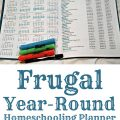 Frugal Year Round Homeschooling Planner {review}