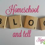 Stop by and link up at the Homeschool Blog and Tell at The Homeschool Post