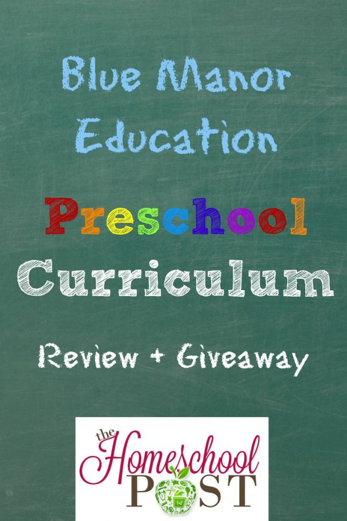 Blue Manor Christian Preschool Curriculum Review & Giveaway