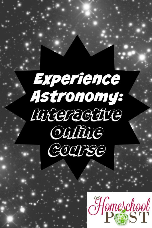 Experience Astronomy: interactive online course for 6th grade and up