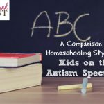 A comparison of homeschool methods or styles for kids on the autism spectrum