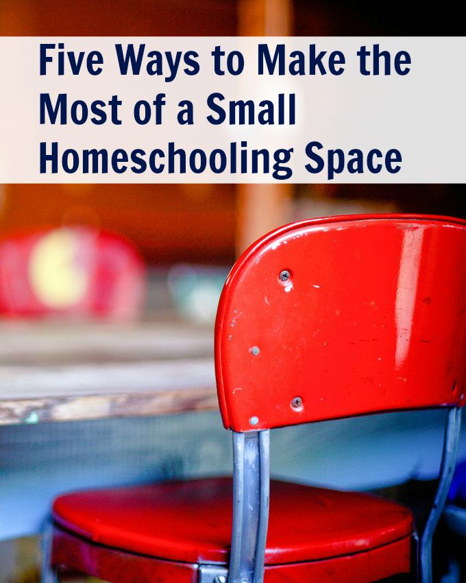 5 Ways to Make the Most of a Small Homeschooling Space at The Homeschool Post