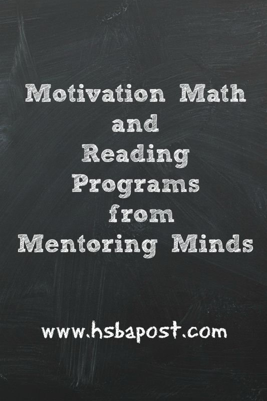 Motivation Math and Reading Programs from Mentoring Minds