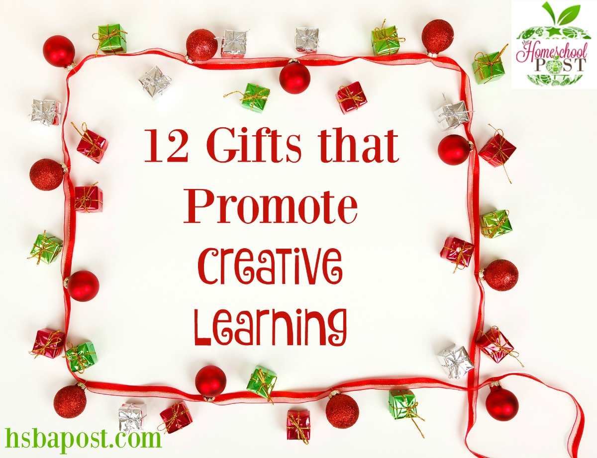 12 Gifts that Promote Creative Learning ~ puzzles, blocks, art, and more on this educational Christmas wishlist! hsbapost.com