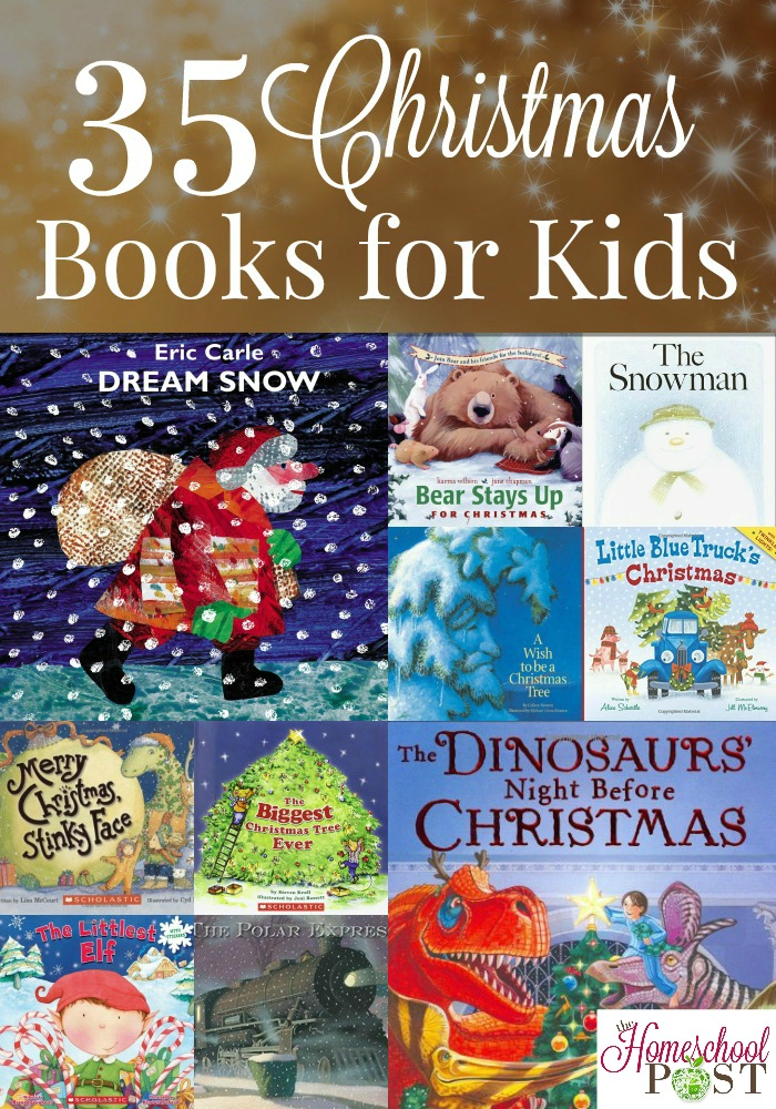 35 Christmas books for kids. Classics, old favorites, and great new books to share! These make great gifts as well. hsbapost.com
