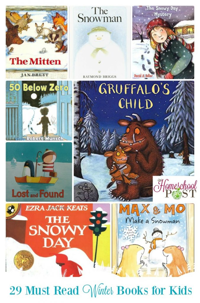 Check out these 29 great must read winter books for kids at hsbapost.com