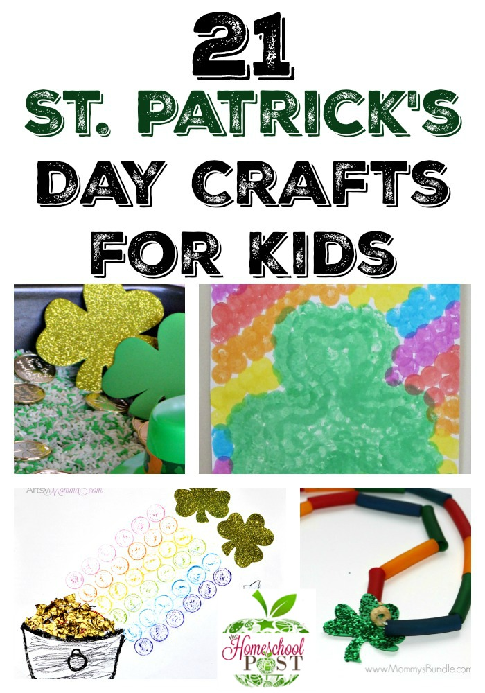 Check out these fun arts and crafts ideas for St Patrick's Day! hsbapost.com
