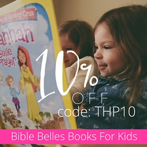 Bible Belles book series. Save 10% with code THP