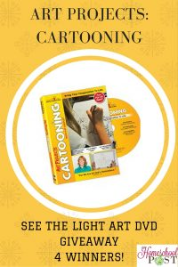 Cartooning Lessons on DVD from See the Light