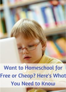 Resources and ideas for homeschooling for free