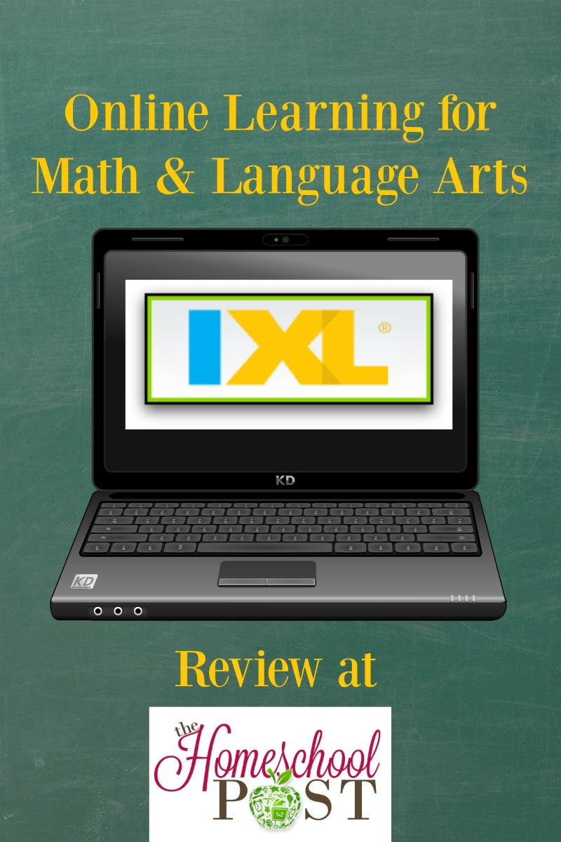 IXL online learning is great for homeschoolers who need help with math and language arts. Read a review at hsbapost.com