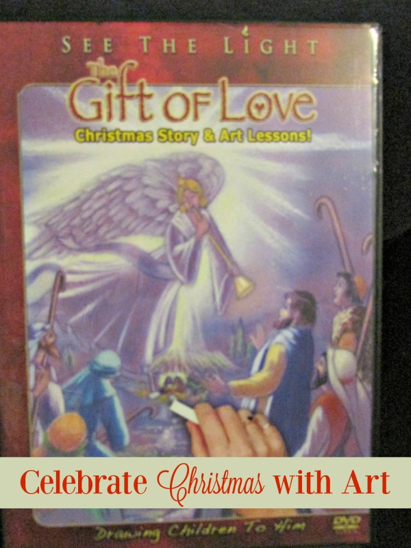 Add art to your Christmas celebrations and homeschool studies with The Gift of Love DVD from See the Light!