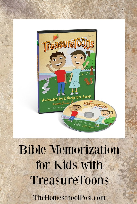 TreasureToons help kids memorize Bible verses set to music and cartoons. Review at hsbapost.com