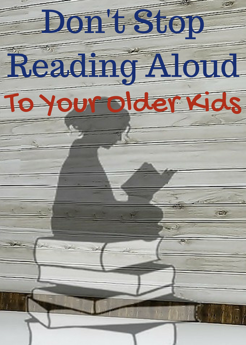 Reading aloud to older kids