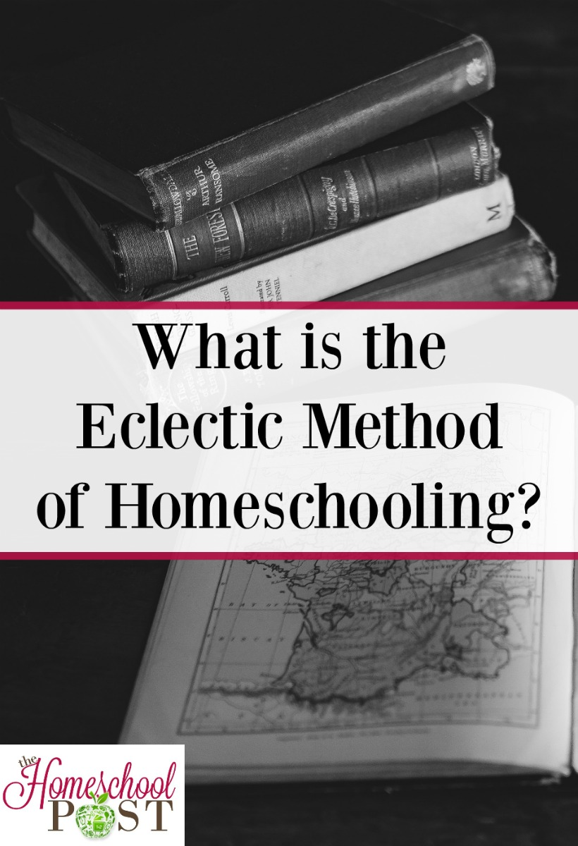 What does eclectic homeschooling mean? Learn about this homeschool method in the Homeschooling Methods series at The Homeschool Post.