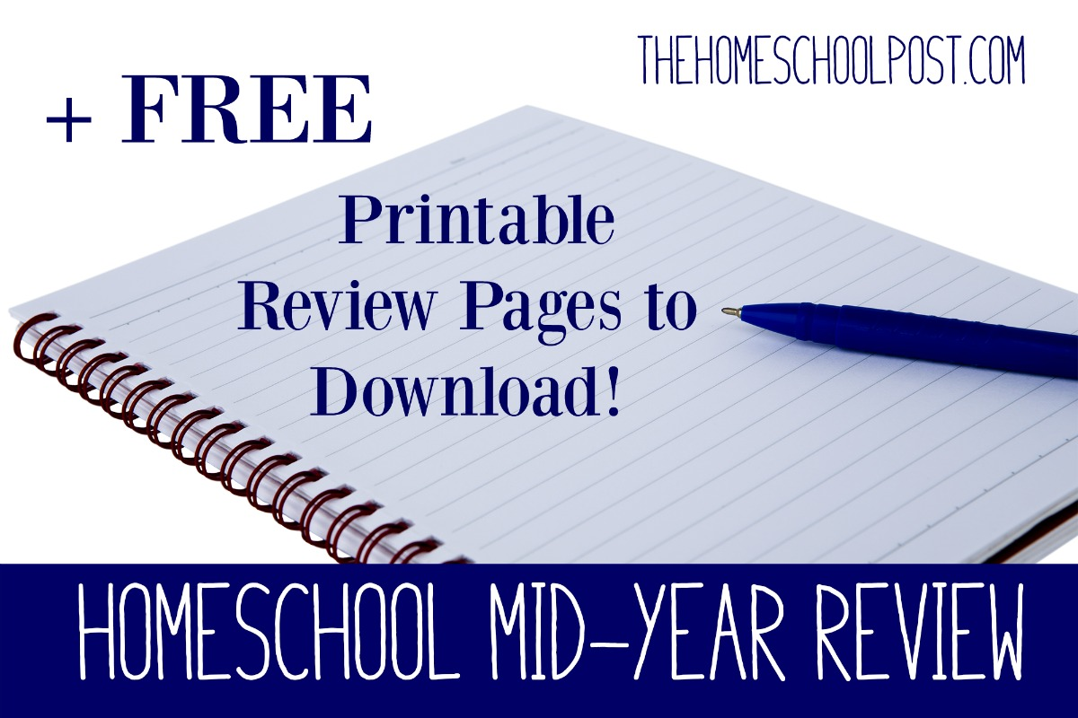 Does your homeschool need a mid-year review? Read these tips and download your FREE printable assessment pages at hsbapost.com