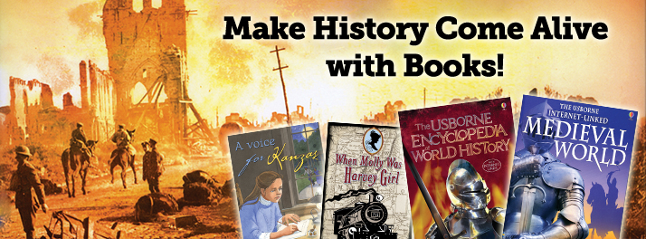 Usborne Books for homeschooling | history | math | language arts | books for kids