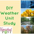 DIY Weather Unit Study resources & ideas