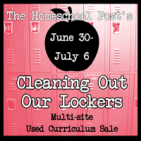 Cleaning Out Our Lockers #homeschool curriculum sale @hsbapost