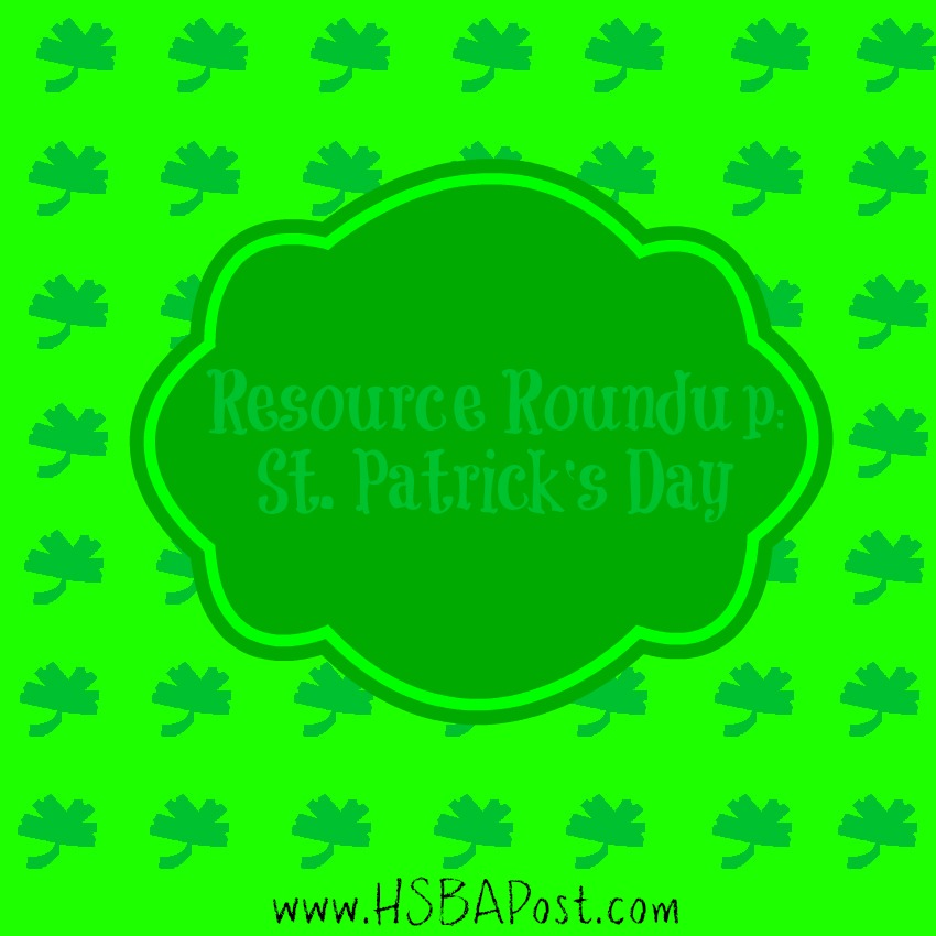 #Homeschool Resource Roundup for St. Patrick's Day
