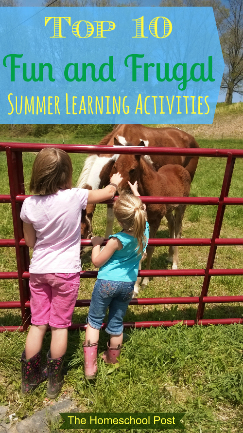 Fun & Frugal Summer Learning @hsbapost