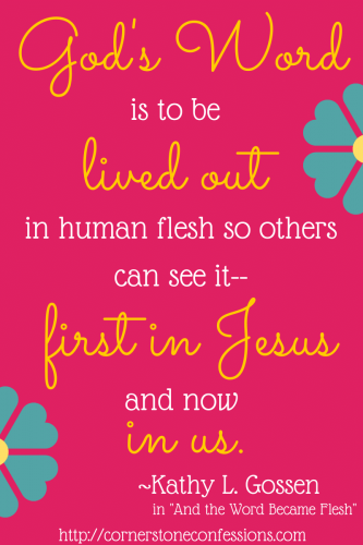 """""""And the Word Became Flesh"""" 90-day devotional"""