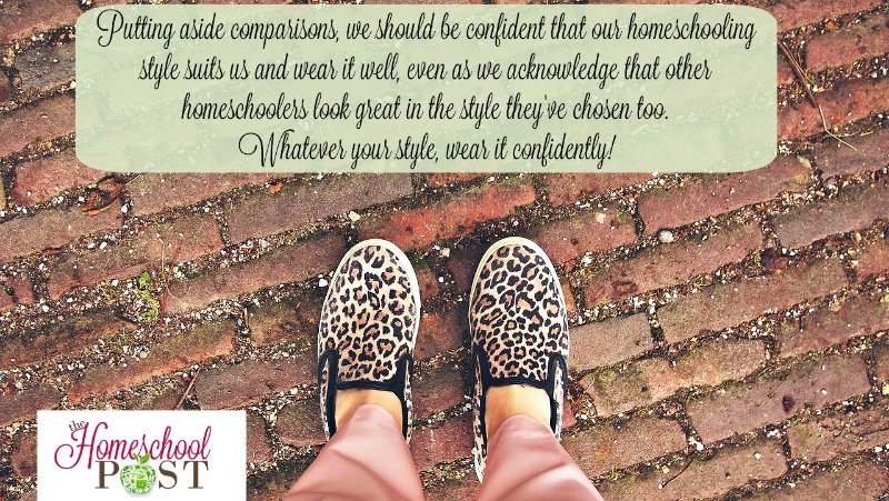 Embracing your unique homeschool style with confidence @hsbapost