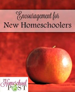 Encouragement for New Homeschoolers