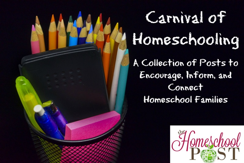 Carnival of Homeschooling ~ great homeschool reads in this month's roundup! Encouragement and helpful info for your homeschool journey. hsbapost.com