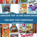 Games are a great family tradition for the holidays. Here are 10 Fun Game Ideas for Kids this Christmas! Shop and ship easily with Amazon, even at the last minute! hsbapost.com