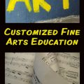 Creating a customized Fine Arts course of study for your homeschool. hsbapost.com