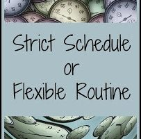 schedule or routine