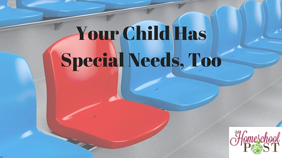 """Don't all kids have """"special needs"""" in regards to their education? That's why homeschooling works! Read the reasoning at hsbapost.com"""