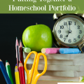 What is a homeschool portfolio? What should be included? Read this to take the stress out of making a homeschool portfolio! hsbapost.com