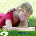 summer learning ideas that don't involve textbooks or electronics