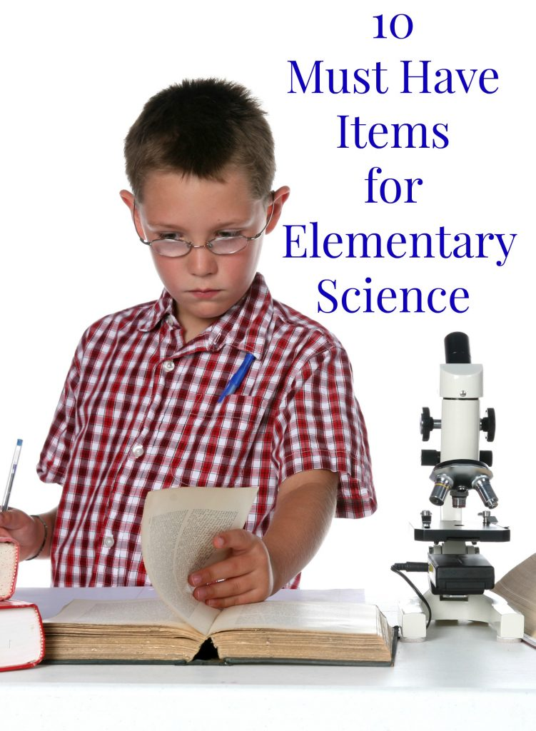 10 essential supplies for elementary science. The must have items we use in our homeschool. hsbapost.com