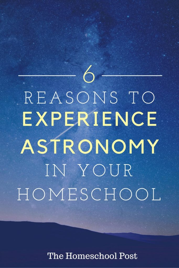 6 Reasons to Experience Astronomy in your Homeschool, plus a coupon code to save 15% off the online course! hsbapost.com